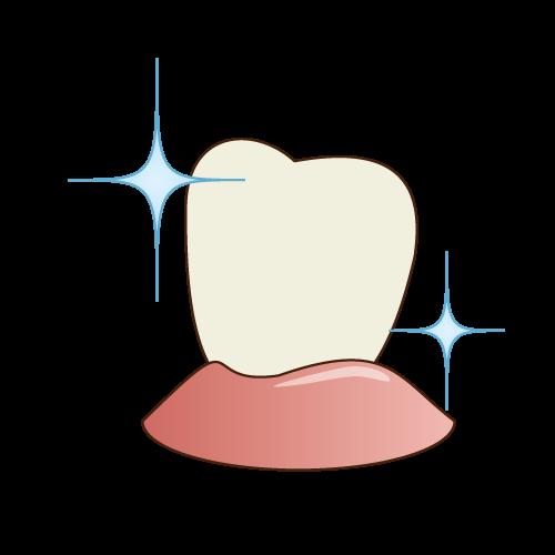 予防処置を受ければ、本来の歯の白さが蘇ります!